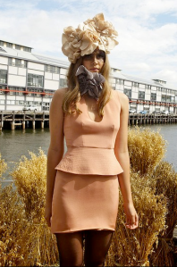 Winter Look: Yeojin Bae dress styled by Romy Frydman