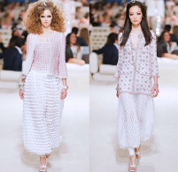 chanel-karl-lagerfeld-cruise-2014-2015-runway-dubai-uae-tweed-3D-flowers-palazzo-pants-harem-mesh-geometric-sweatpants-lace-crochet-frizzy-moon-dress-01x