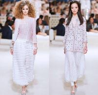 chanel-karl-lagerfeld-cruise-2014-2015-runway-dubai-uae-tweed-3D-flowers-palazzo-pants-harem-mesh-geometric-sweatpants-lace-crochet-frizzy-moon-dress-01x