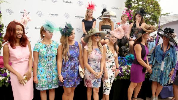 Girl Power At 2014 The Breeders Cup In California