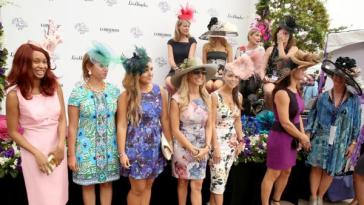 Guests-attend-the-2014-Breeders-Cup-World-Championships-at-Santa-Anita-Park-in-Santa-Anita-Calif.
