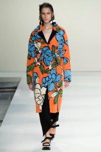 6 floral coat