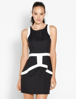 dotti_peplum dress