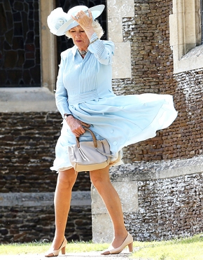 Millinery at the Christening of PrincessCharlotte