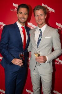 MAISON MUMM_CUP DAY_MICHAEL TURNBULL, RICHIE STRAHAN