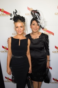 MUMM_DERBY DAY_DANIELLE SPENCER & NEVIENE TORKI