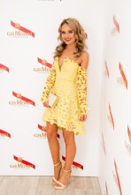 canary yellow lace