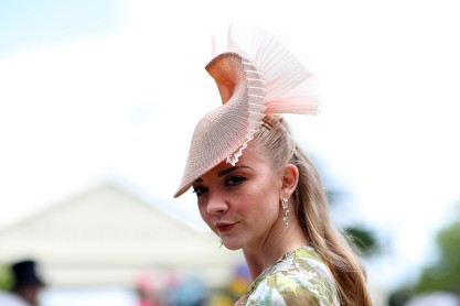 ASCOT, ENGLAND - JUNE 20: Actress Natalie Dormer on day three, Ladies Day, of Royal Ascot at Ascot Racecourse on June 20, 2019 in Ascot, England. (Photo by Chris Jackson/Getty Images)